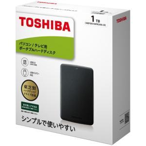 ポータブルHDD 東芝 ポータブルHDD HDT...の商品画像