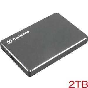 ポータブルHDD トランセンド TS2TSJ25C3N [USB3.0対応 スリムタイプポータブルH...