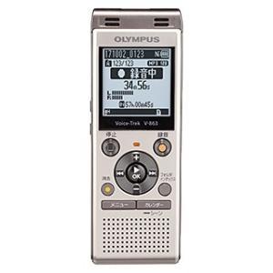 ICレコーダー オリンパス V-863 GLD [Voice Trek V-863 シャンパンゴールド]|etrend-y