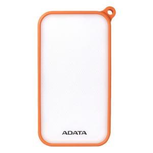 モバイルバッテリー ADATA AD8000L-5V-COR [LED照明付き IP54防塵/防水 モバイルバッテリ Power Bank D8000L 8000mAh オレンジ]|etrend-y