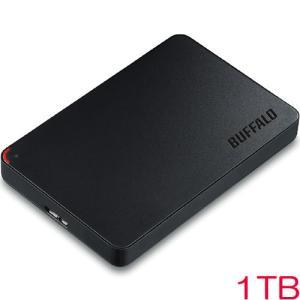 ポータブルHDD バッファロー HD-NRPCF1.0-BB [USB3.0 ポータブルHDD 1TB BUFFALO バッファロー]|etrend-y