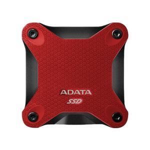 ポータブルSSD ADATA ASD600-512GU31-CRD [512GB ポータブルSSD SD600 USB 3.1 耐衝撃 レッド]|etrend-y