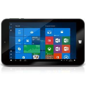 タブレット geanee  WDP-075-1G16G-10BT [Atom z3735G 1GB 16GB 7型 Win10 WiFi]