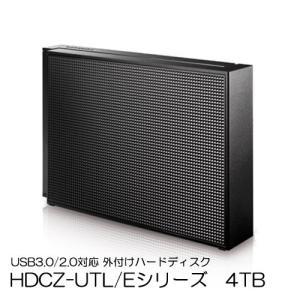 外付HDD 4TB アイオーデータ HDCZ-UTL4K/E [USB 3.0/2.0対応 外付ハードディスク 4TB]