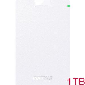 ポータブルHDD バッファロー MiniStation HD-PCG1.0U3-BWA [USB3....