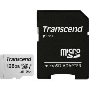 マイクロSDカード トランセンド TS128GUSD300S-A [128GB microSDXC 300S Class 10、UHS-I U3、V30、A1 対応 SDカードアダプタ付属] etrend-y