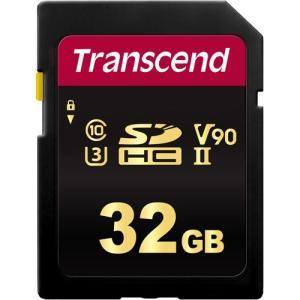 SDカード トランセンド TS32GSDC700S [32GB SDHC 700S UHS-II U3、Class 10、V90 対応 MLC] etrend-y