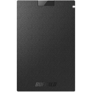 ポータブルSSD バッファロー SSD-PG120U3-BA [USB3.1(Gen1) ポータブル...