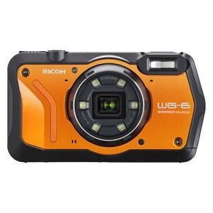 デジタルカメラ リコー WG-6OR [防水デジタルカメラ WG-6 (オレンジ)] etrend-y