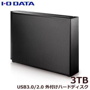 外付HDD アイオーデータ HDCZ-UTL3K/E [USB 3.1 Gen 1(USB 3.0)/2.0対応 外付ハードディスク 3TB]|etrend-y