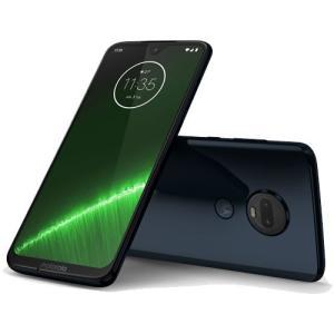 スマートフォン モトローラ PADU0003JP [Moto G7+ ディープインディゴ]|etrend-y