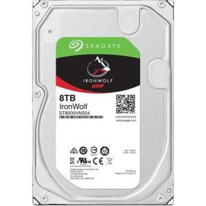 HDD シーゲート ST8000VN004 [NAS向けHDD IronWolf(8TB 3.5イン...