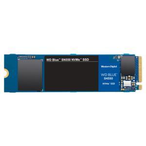SSD ウエスタンデジタル WDS100T2B0C [WD Blue SN550 NVMe SSD(1TB M.2(2280) PCIe Gen3 x4 NVMe 600TBW 5年保証)]の画像
