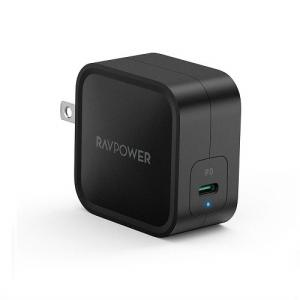 USB充電器 RAV Power RP-PC112 BK [USB-C急速充電器 61W/PD 3....