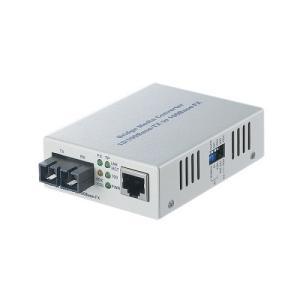 ■LANケーブルを光ファイバーケーブルに変換し、接続距離を最大2kmまで延長可  10BASE-T/...
