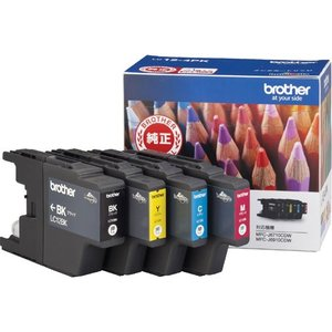 インクカートリッジ ブラザー LC12-4PK [純正インクカートリッジお徳用4色パック]|etrend-y