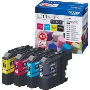 インクカートリッジ ブラザー LC111-4PK [純正インクカートリッジ お徳用4色パック]|etrend-y