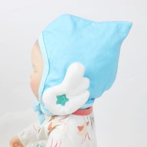 新生児 ボンネット 帽子 ハンドメイド レース 男の子 女の子 赤ちゃん かわいい リボン メール便可(ギフトラッピング不可)/pjr-001|ette