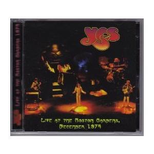 【新品CD】 YES / Live At The Boston Garden December 1974|euclid