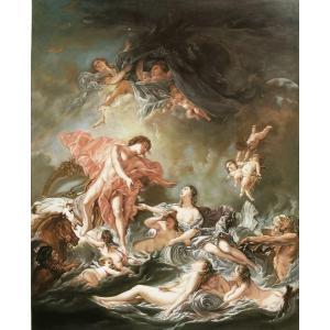 油絵 フランシス・ブーシェの名作_日没|eurasia-art