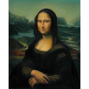 特価油絵 ダビンチの名作_モナリザ eurasia-art