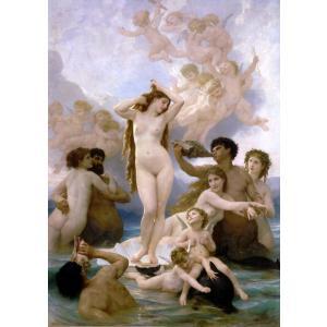 油絵 ウイリアム・ブーグローの名作「ビーナスの誕生」|eurasia-art