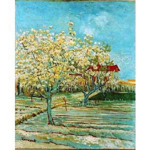 油絵  ゴッホ_ 満開の果樹園|eurasia-art