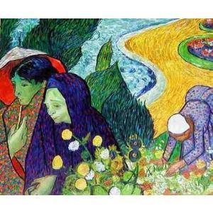 特価油絵 ゴッホの名作「エッテンの庭の思い出」|eurasia-art