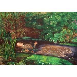 特価油絵  ミレイの名作_オフィーリア|eurasia-art