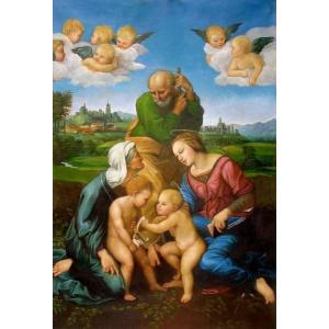 特価油絵  ラファエロの名作「カニジャーニの聖家族」|eurasia-art