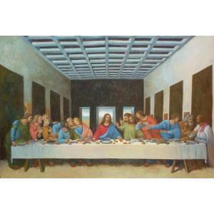 特価油絵 ダビンチの名作_最後の晩餐 eurasia-art
