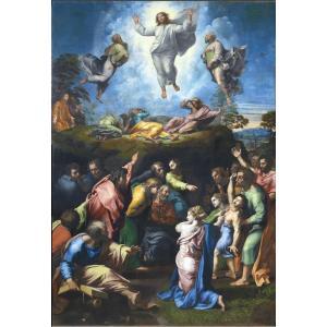 特価油絵 ラファエロの名作「キリストの変容」|eurasia-art