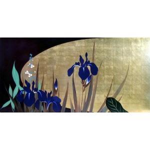 漆絵 酒井抱一の名作「四季花鳥図巻」 部分|eurasia-art
