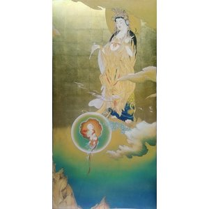 漆絵 狩野芳崖の名作「悲母観音」 eurasia-art