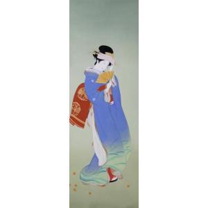 漆絵 上村松園の名作「秋の粧」部分|eurasia-art