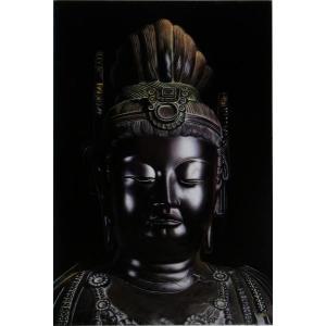 漆絵 「薬師三尊 1」 eurasia-art