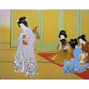 漆絵 上村松園の名作「舞仕度」|eurasia-art