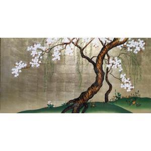 漆絵 酒井抱一の名作「桜図」|eurasia-art