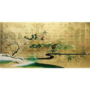 漆絵 酒井抱一の名作「四季花鳥図」|eurasia-art