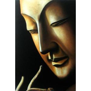 漆絵 弥勒菩薩 eurasia-art