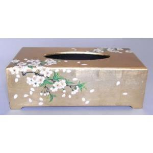 特製・漆絵ティッシュボックス 桜|eurasia-art