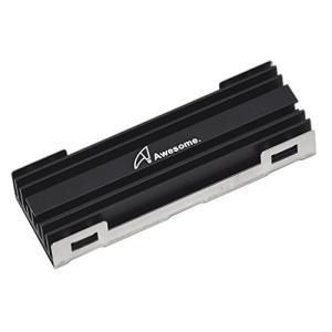M.2 SSD用ヒートシンク パッケージ内容 ヒートシンク x 1、ブラケット x 1、熱伝導パッド...