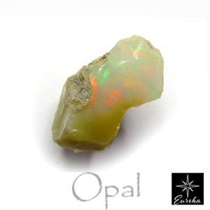 オパール エチオピアオパール 原石  4.11ct 天然石 10月の誕生石
