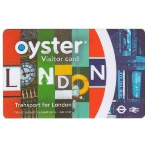 ロンドンオイスターカード (10ポンド入り/ビジター用)|eurlink