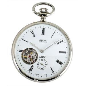 epos エポス メンズ 懐中時計 2090 手巻き Unitas6497 シースルー|euro