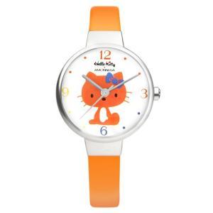 ワケあリアウトレット ハローキティ アモンリザ ALHK2491WHOROR ハローキティ特製ポーチ付 腕時計 レディース HelloKitty×AMONNLISA|euro