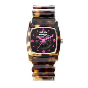 ワケあリアウトレット ハローキティ アモンリザ ALHK2492TT ハローキティ特製ポーチ付 腕時計 レディース HelloKitty×AMONNLISA|euro