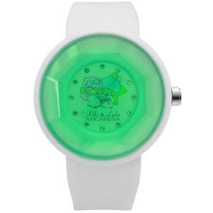 ワケあリアウトレット キキララ アモンリザALTS1112GRWH 腕時計 レディース Kiki&Lala×AMONNLISA|euro