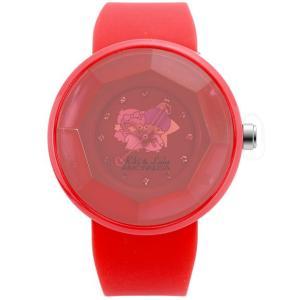 ワケあリアウトレット キキララ アモンリザ ALTS1112RDRD 腕時計 レディース Kiki&Lala×AMONNLISA|euro