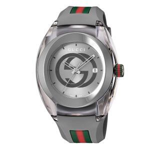 グッチ SYNC YA137109A 腕時計 メンズ GUCCI  ラバーベルト 防水 プレゼント ...